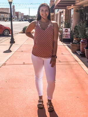Scallop and Dots Cami