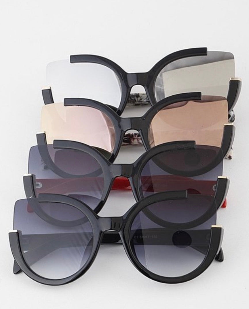 Double C Cat Eye Sunnies