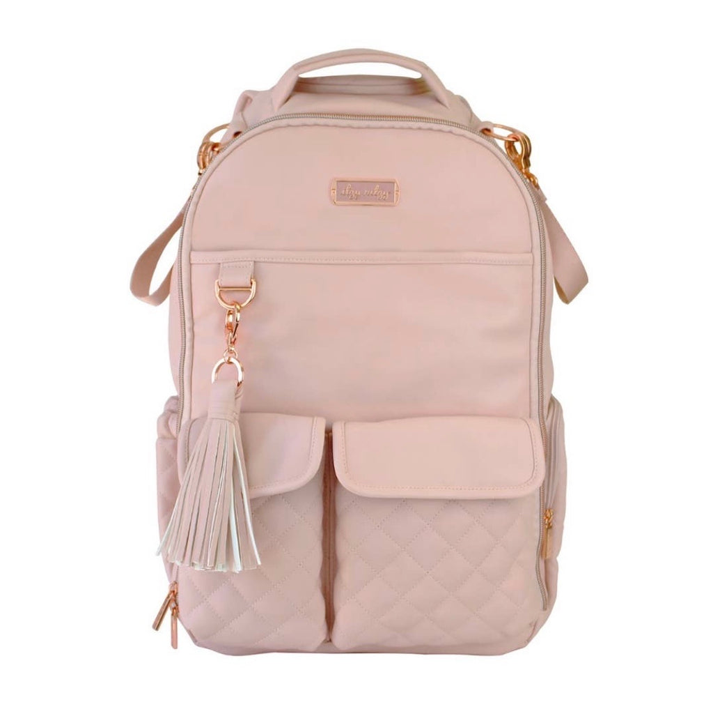 Blush Crush Boss Backpack Diaper Bag