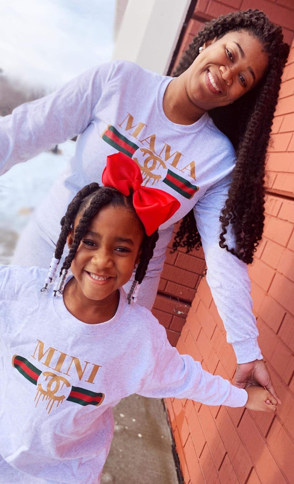 Mama & Mini Long-sleeve Tee