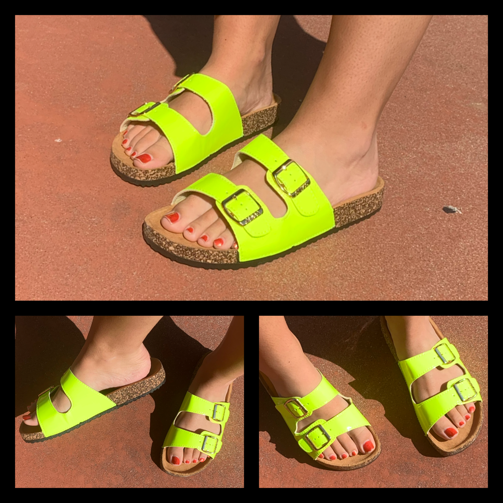 Dat Highlighter Do Sandals