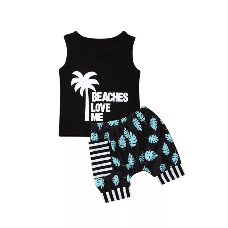 Beaches Love Me 2 piece set