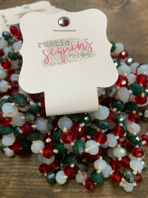 Christmas Mix 60 Inch Necklace
