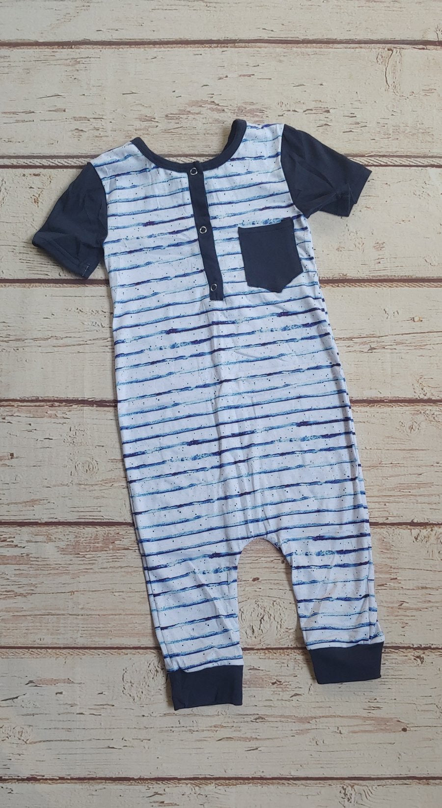 Sailor Stripe Romper