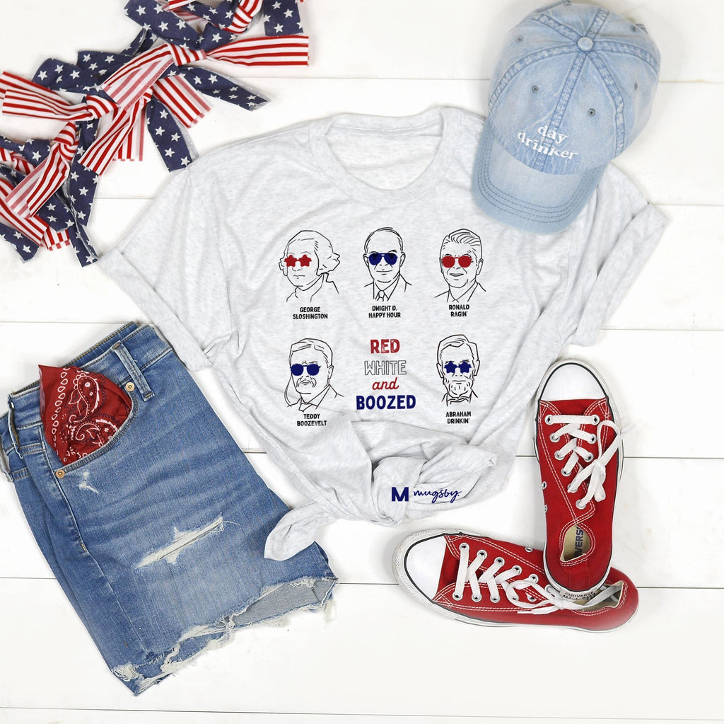 Red White And Boozed Tee