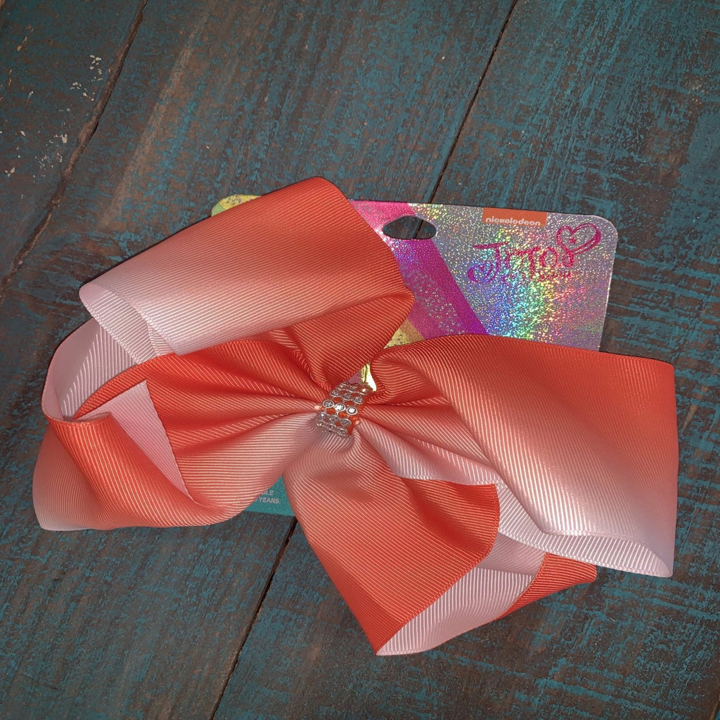 Orange Dreamsicle Bow