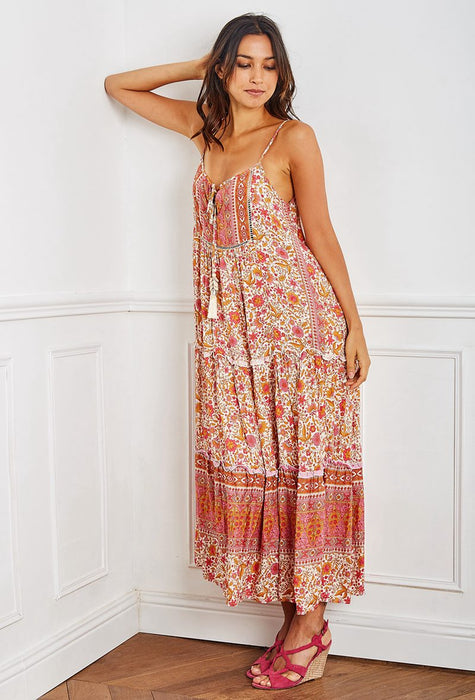 Charlotte Floral Swing Dress - Saucy Ladies Intimates