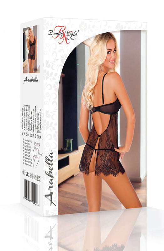 Beauty Night Arabella Chemise Set - Saucy Ladies Intimates