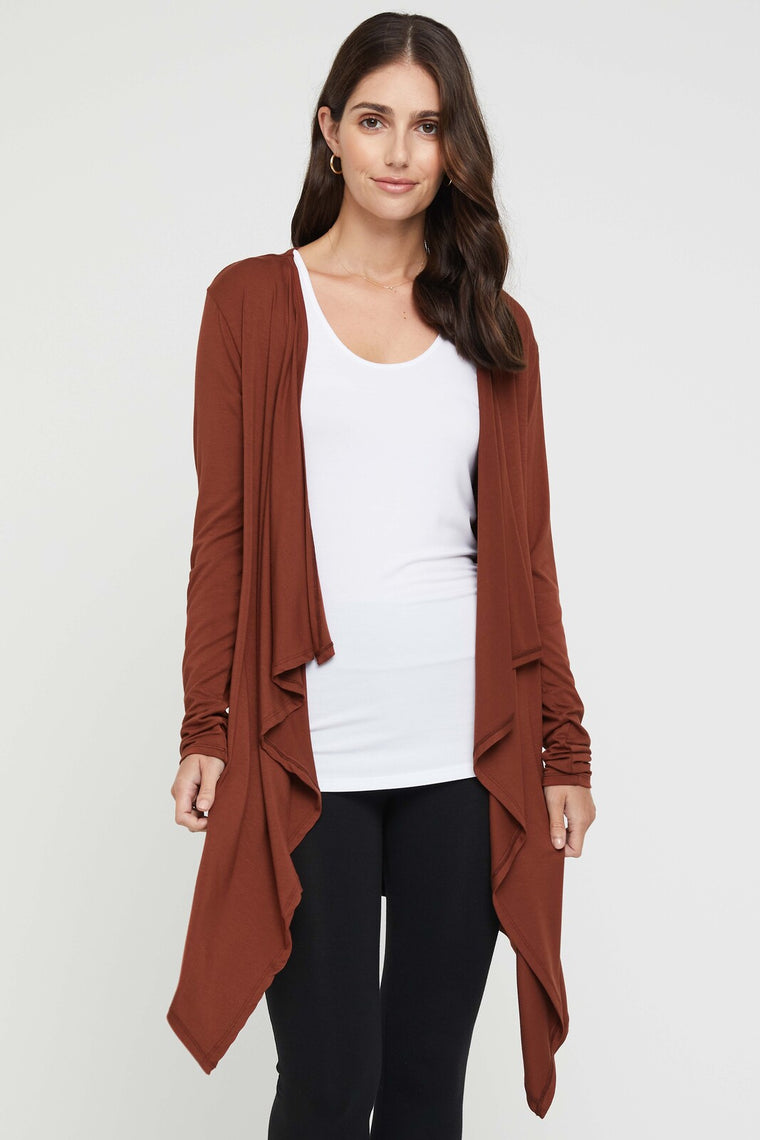Bamboo Body Waterfall Cardigan
