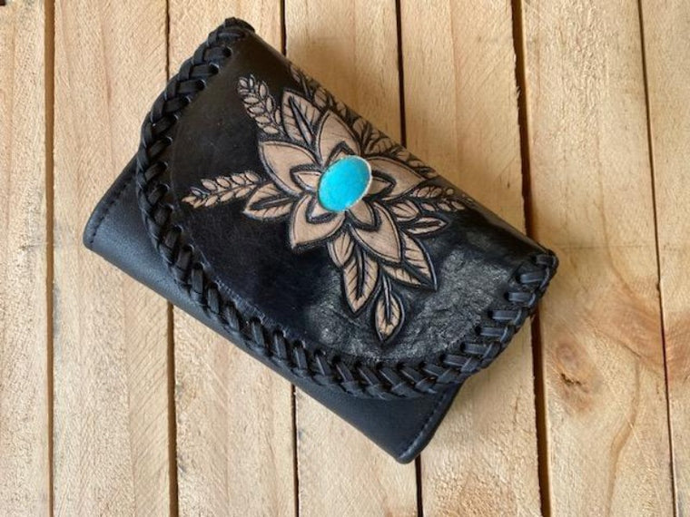 Free Spirit Hand Tooled Purse