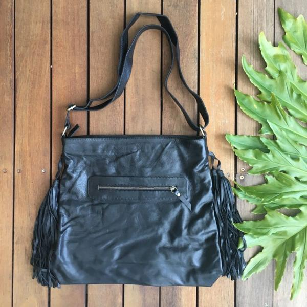 Weave & Stitch Tassel Bag - Saucy Ladies Intimates
