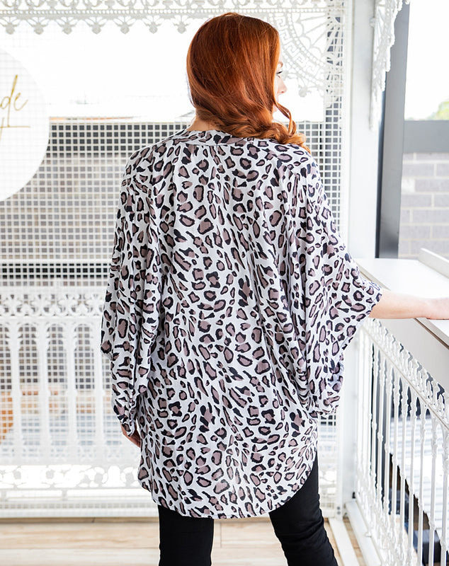 Go Wild Animal Print Cape - Saucy Ladies Intimates