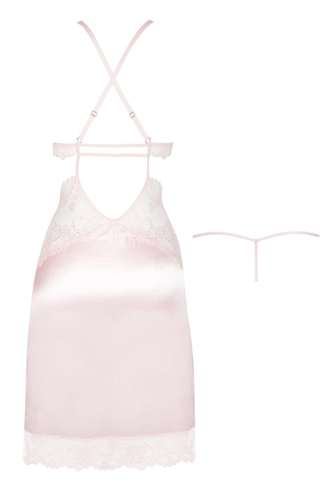Beauty Night Adelaide Chemise -Pink - Saucy Ladies Intimates