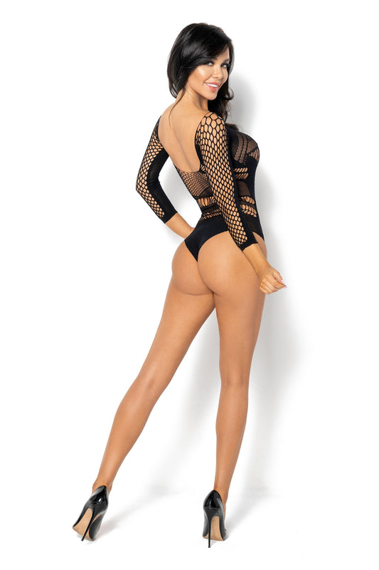 Beauty Night Lucelia Teddy Bodystocking - Black - Saucy Ladies Intimates