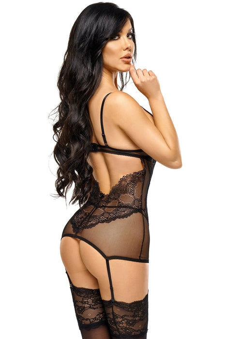 Beauty Night Marion Chemise - Black - Saucy Ladies Intimates