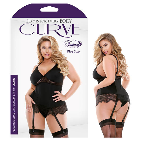 Curve Yasmin Luxury Camisole with Matching Panty