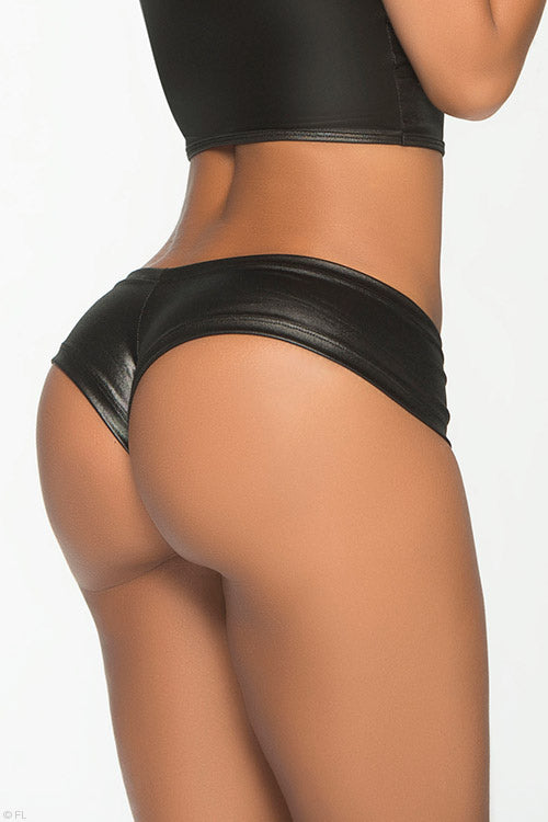 Mapale by Espiral Hot Mix Cheeky Black Boyshort - Saucy Ladies Intimates
