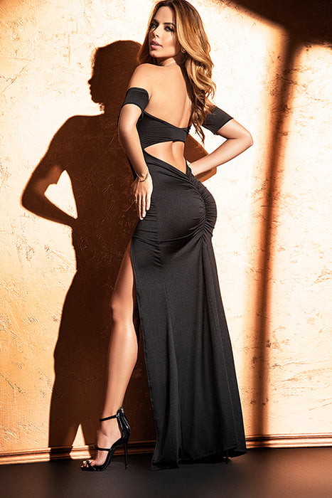 Mapale Venus Off-Shoulder Dress with Underwires - Saucy Ladies Intimates