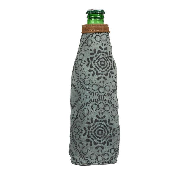 Floral Printed Bottle Koozie