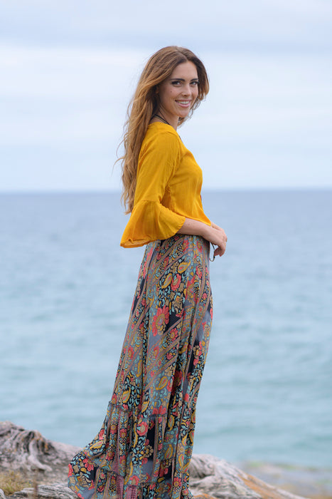 Sunset Bloom Skirt - Saucy Ladies Intimates