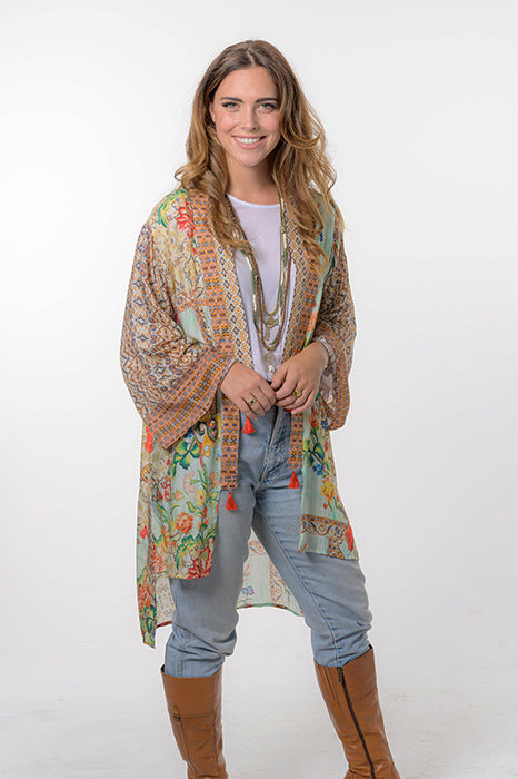 Wild Flower Kimono - Saucy Ladies Intimates