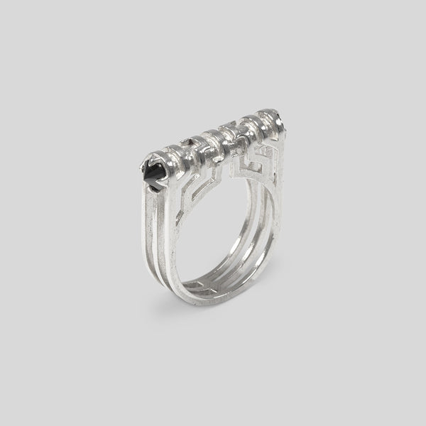 Dual Spike Ring