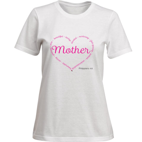 MOTHER-PHILLIPIANS 4:8 - Spirituali-Tee Apparel Gifts & Accessories