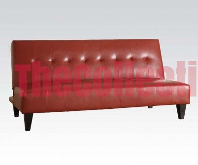 Conrad Red Futon