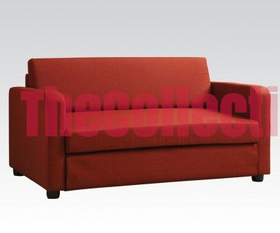 Conall Red Futon