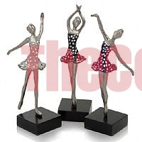 Baila Mosaic Ballerinas - Set of 3