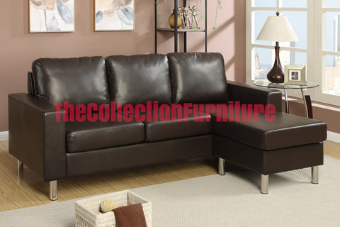 The Loft Chocolate Sectional
