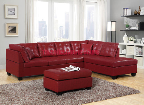 Patricia Red Sectional