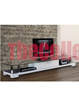 Emily White TV Stand