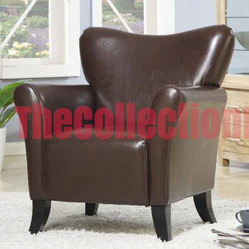 Lulu Brown Accent Chair