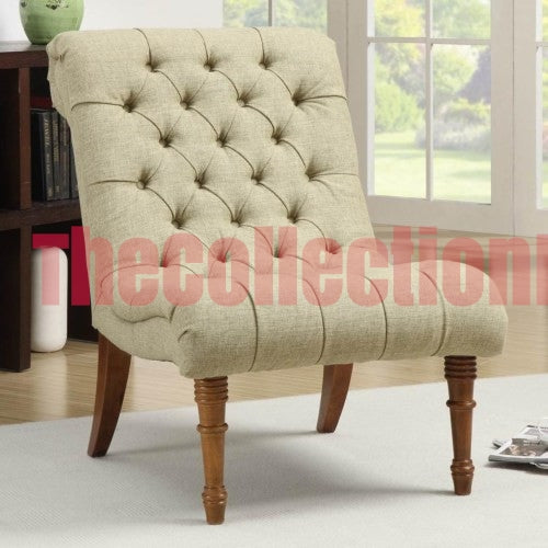 Jessica Mossy Green Accent Chair
