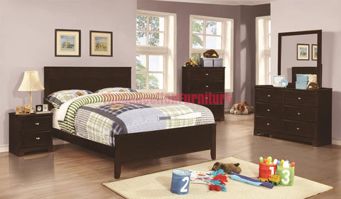 Ashton Cappuccino 4-Piece Bedroom Set