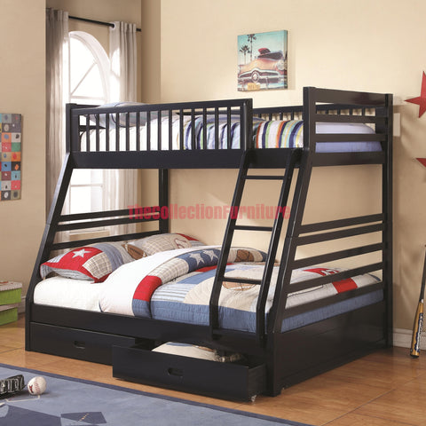 Cudi Navy Blue Bunk Bed