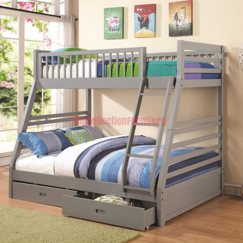 Andy Grey Bunk Bed