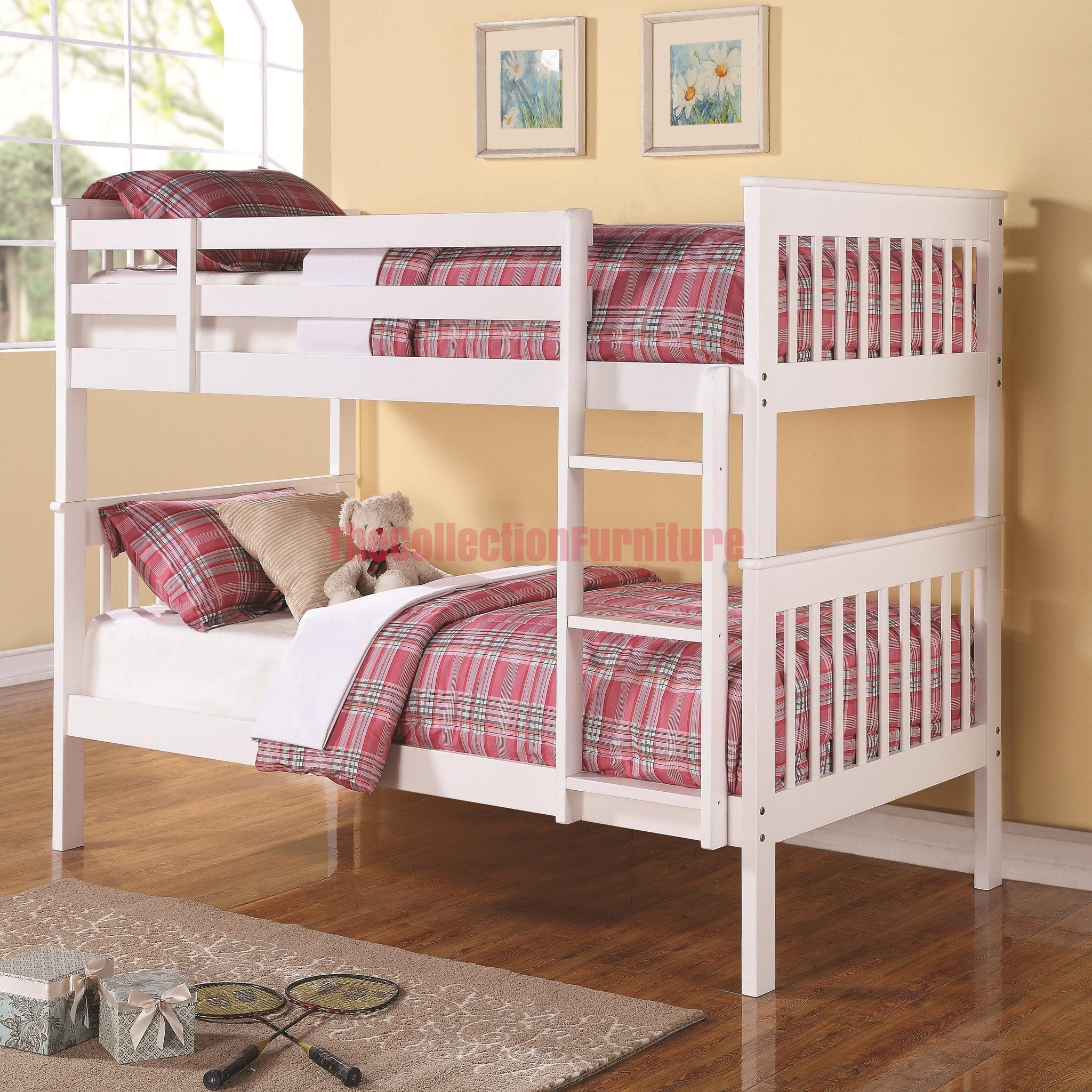 Daisy White Bunk Bed – The Collection Furniture