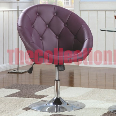Alexa Purple Accent Chair