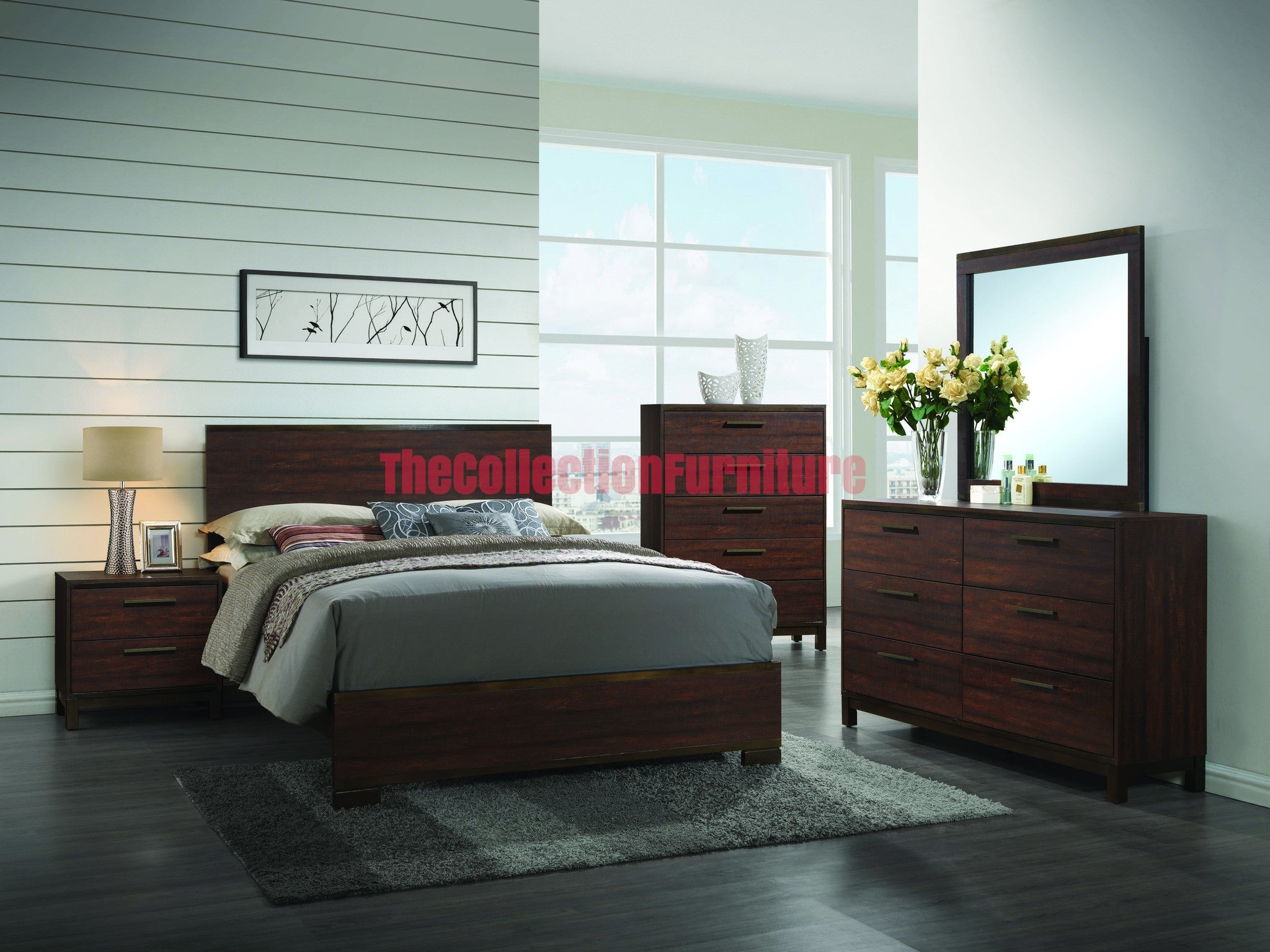 Edamon 4 Piece Bedroom Set