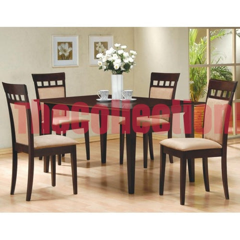 Aspen Wheat 5-Piece Dining Set