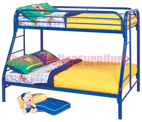 Carey Blue Bunk Bed