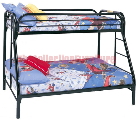 Carey Black Bunk Bed