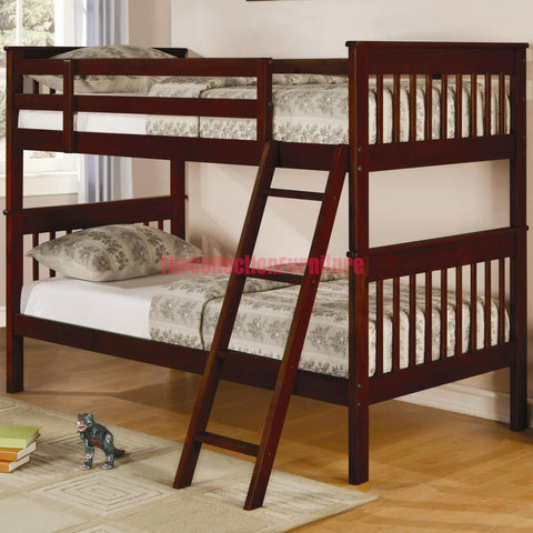 Rani Cappuccino Bunk Bed