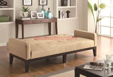 Contempo Cream Futon