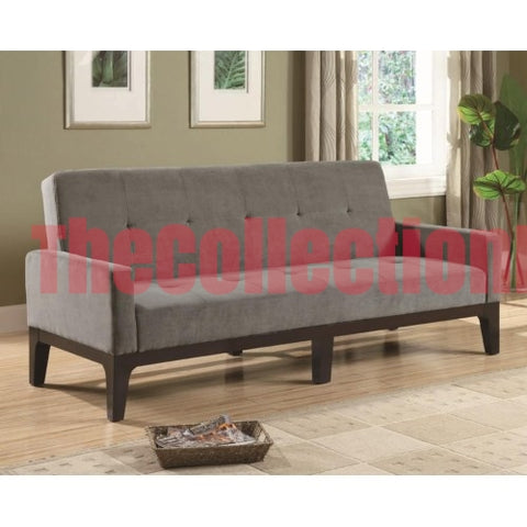 Contempo Blue Gray Futon