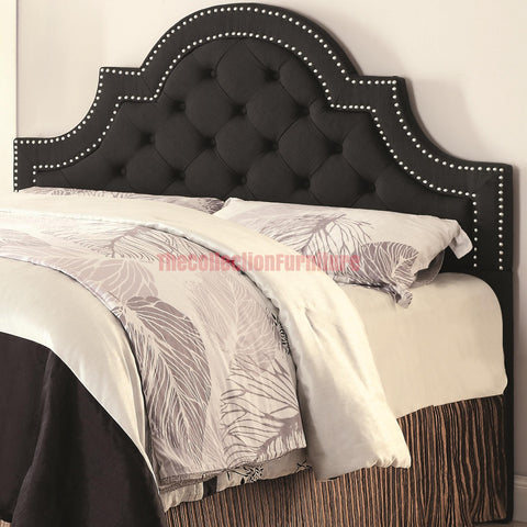 Lawrence Black Headboard