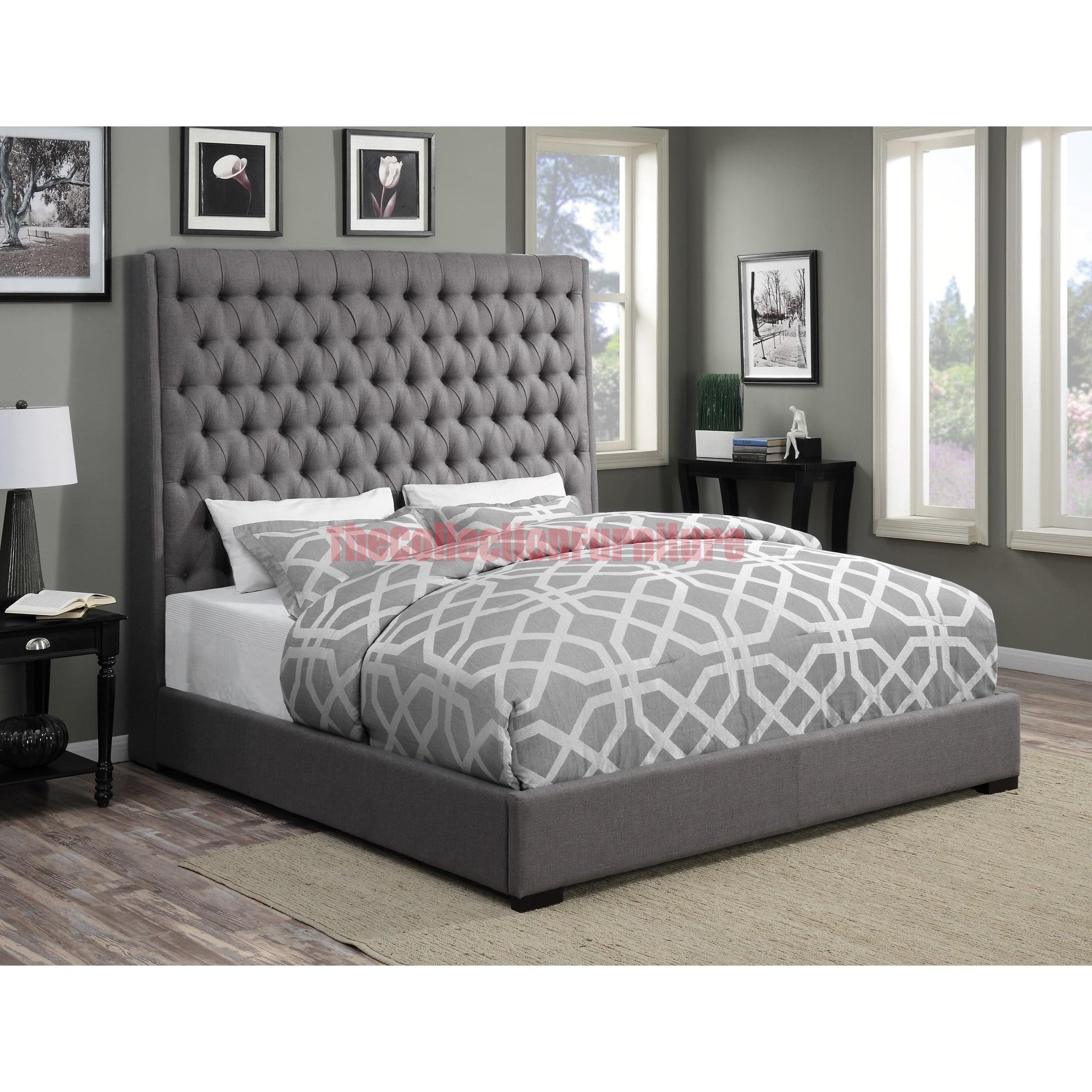 bed products in fabric sectional black lussy leather grey function pu