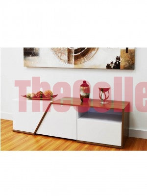 Lauren White TV Stand